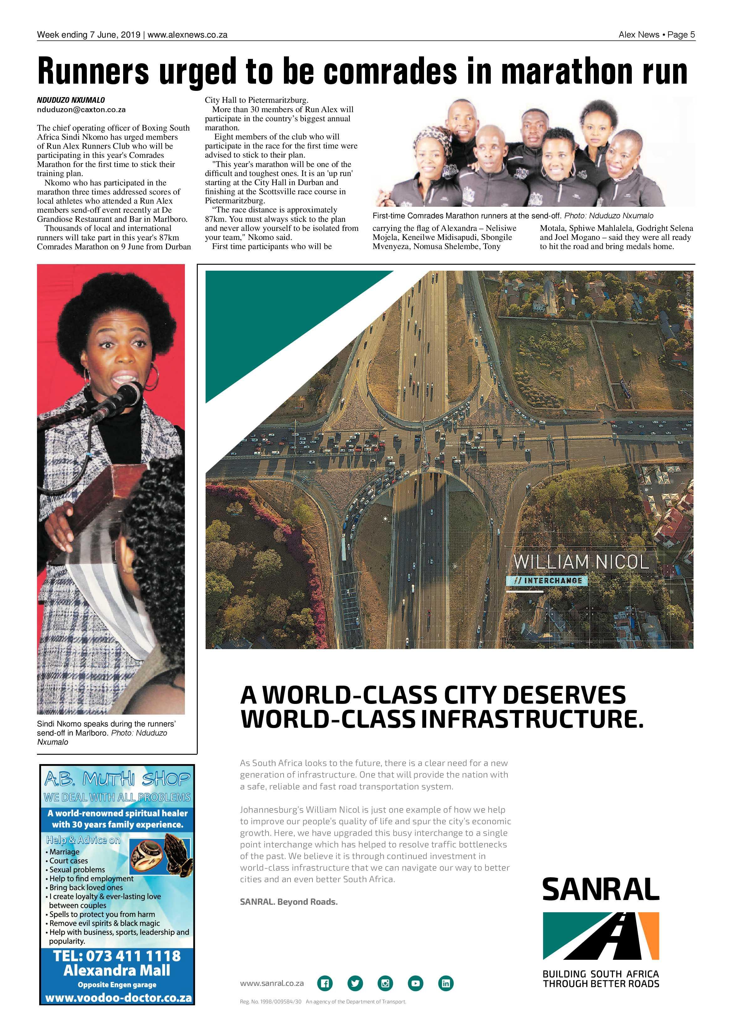 Alex News 7 June, 2019 | Alex News